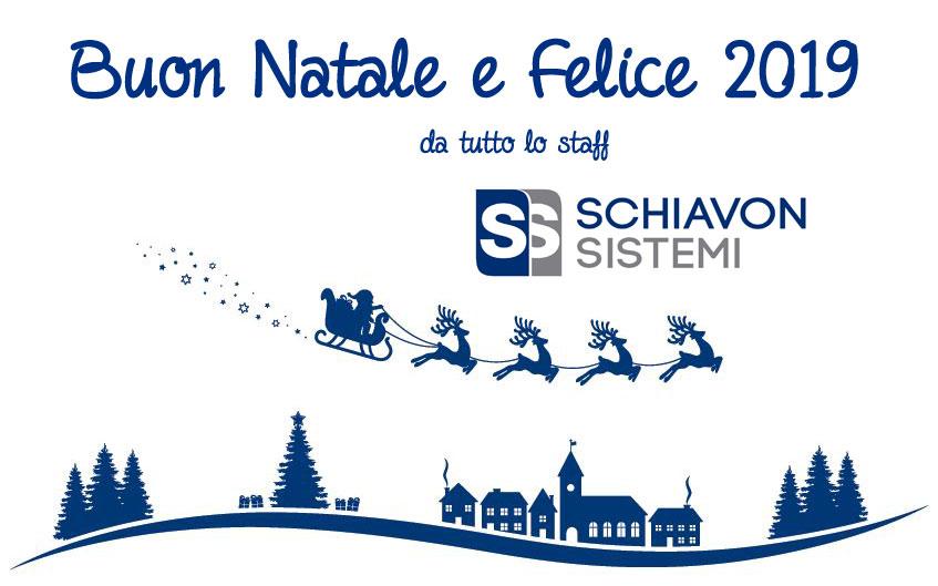 Buon Natale da Schiavon Sistemi