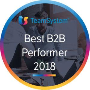 Schiavon Sistemi è Best B2B Performer Teamsystem