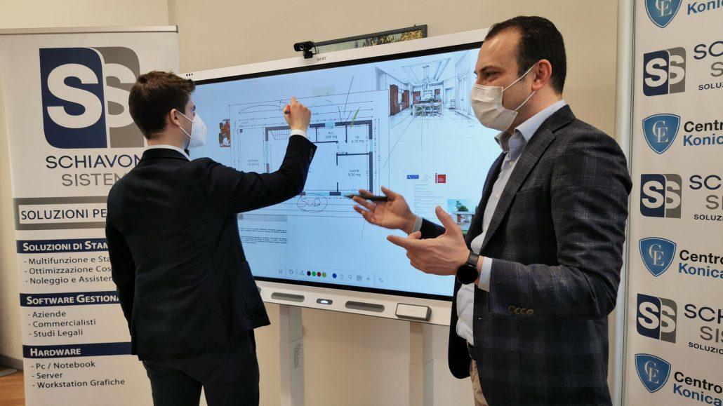 monitor lavagna interattiva