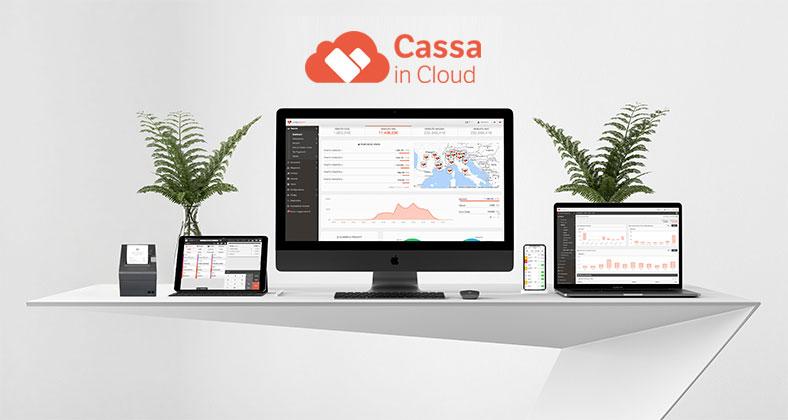 Gestionale in cloud registratore di cassa per negozi e ristoranti bar